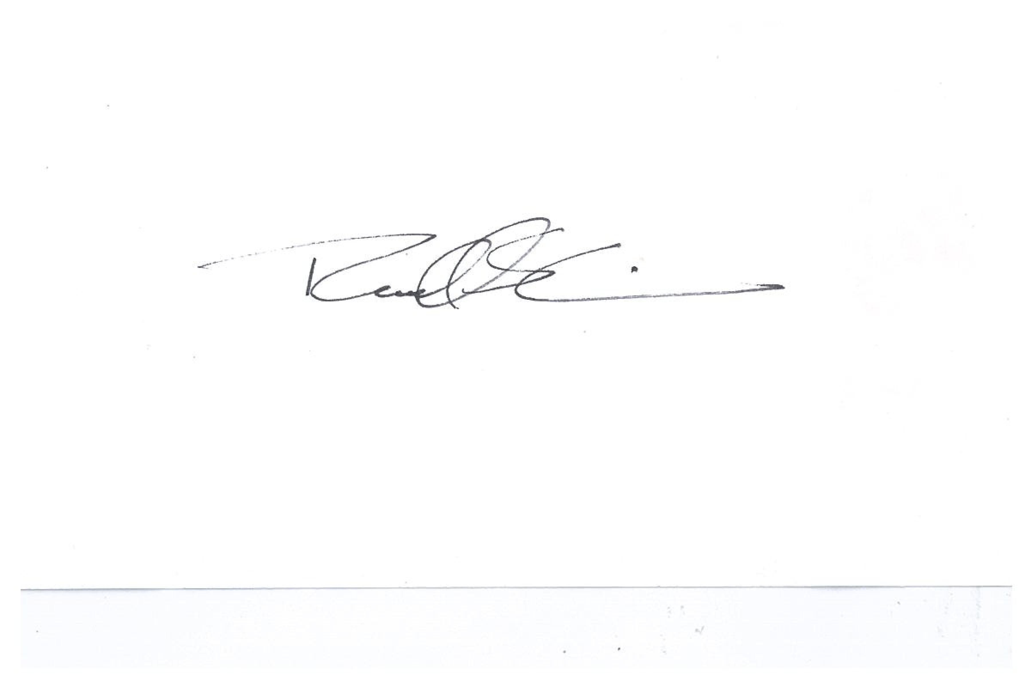 Russell Irwin's Signature
