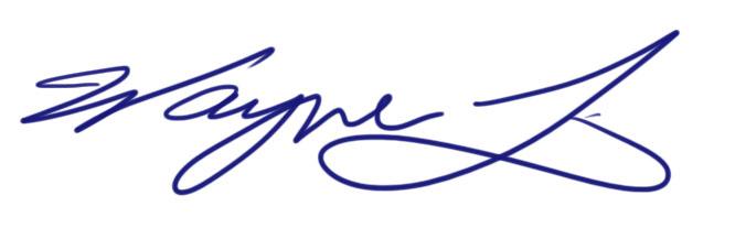 Wayne Li's Signature