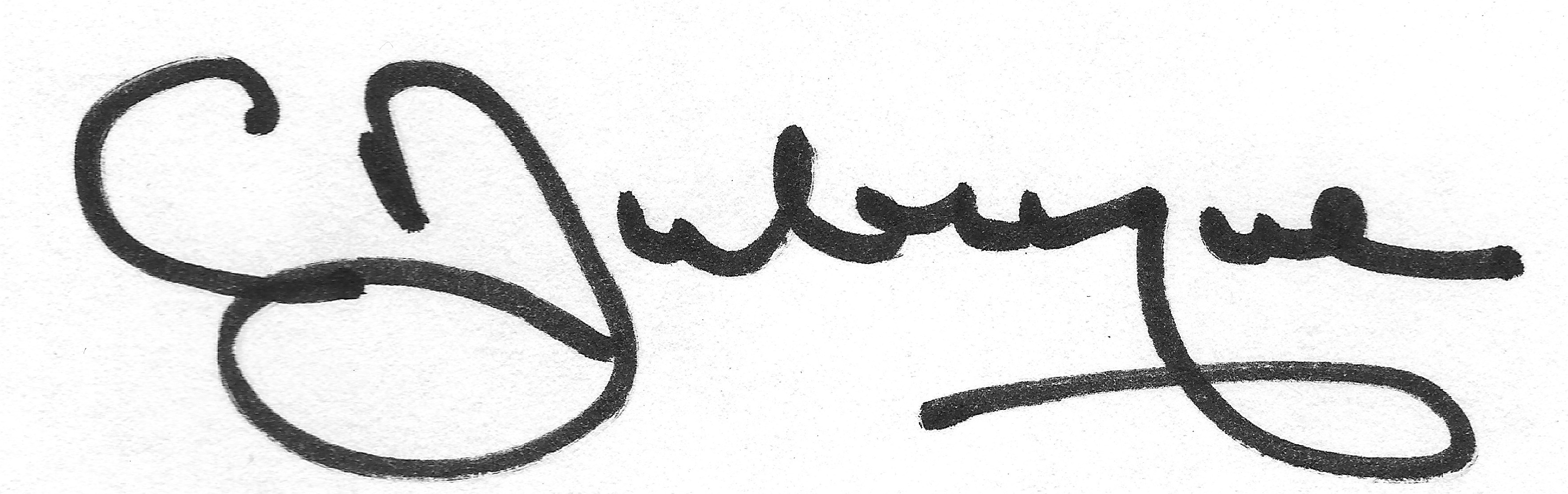 Carolyn Dubuque's Signature