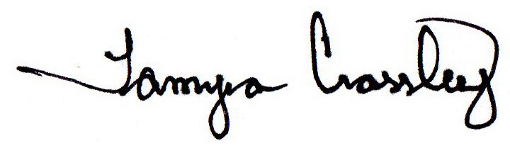 Tamyra Crossley's Signature
