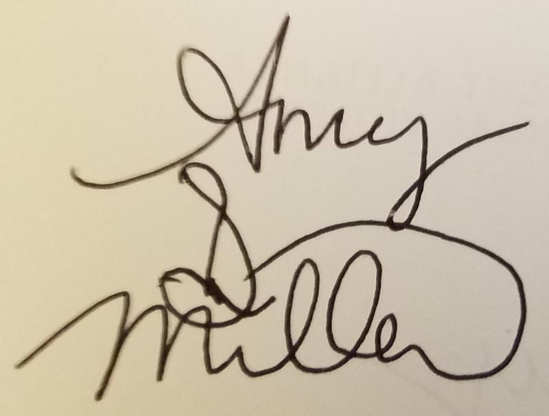 Amy Dustan Miller's Signature
