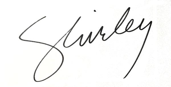 Shirley Salzman's Signature