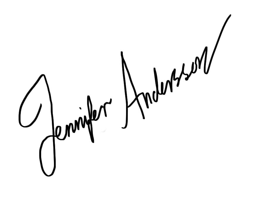 Jennifer Andersson's Signature