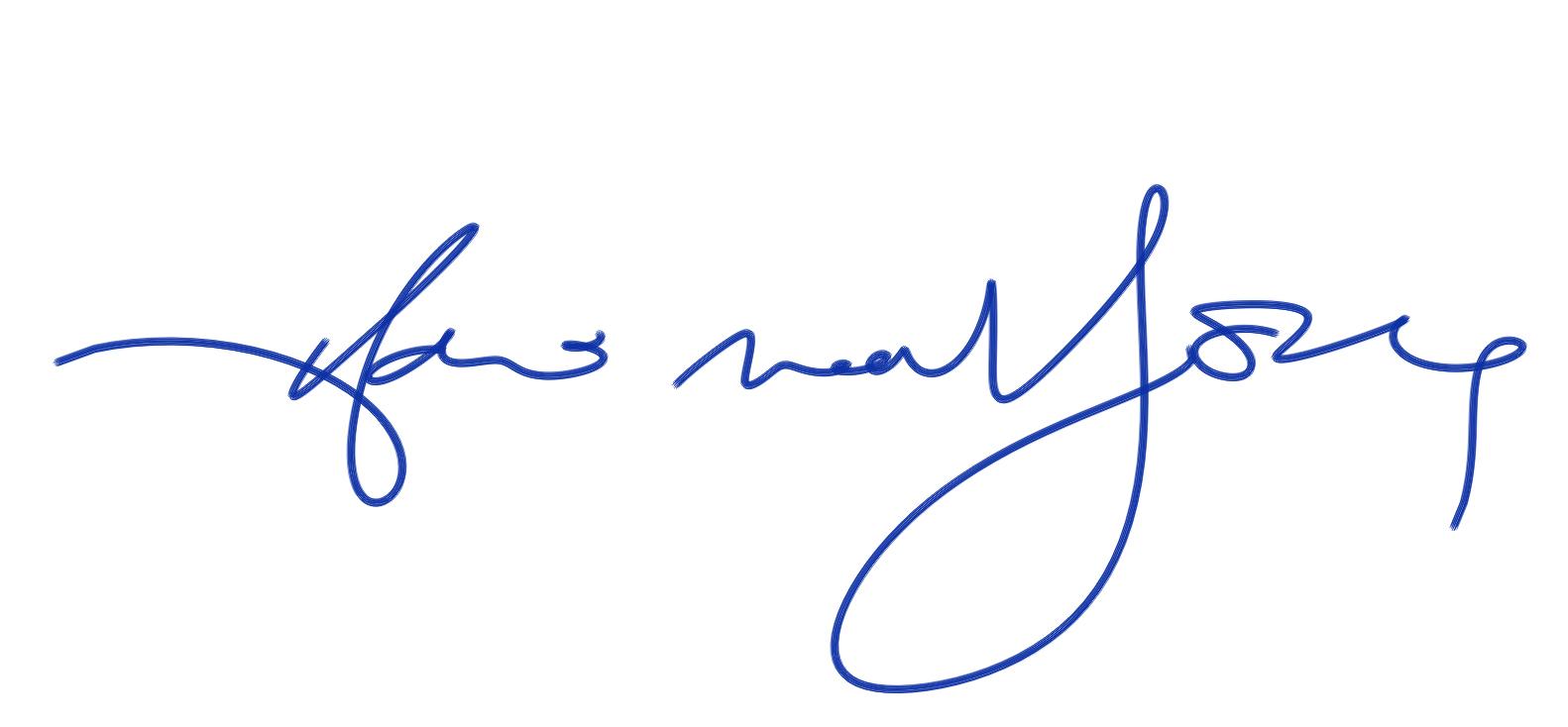 hani mahfouz's Signature