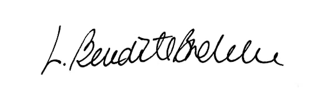 Liv Benedicte Brekke's Signature