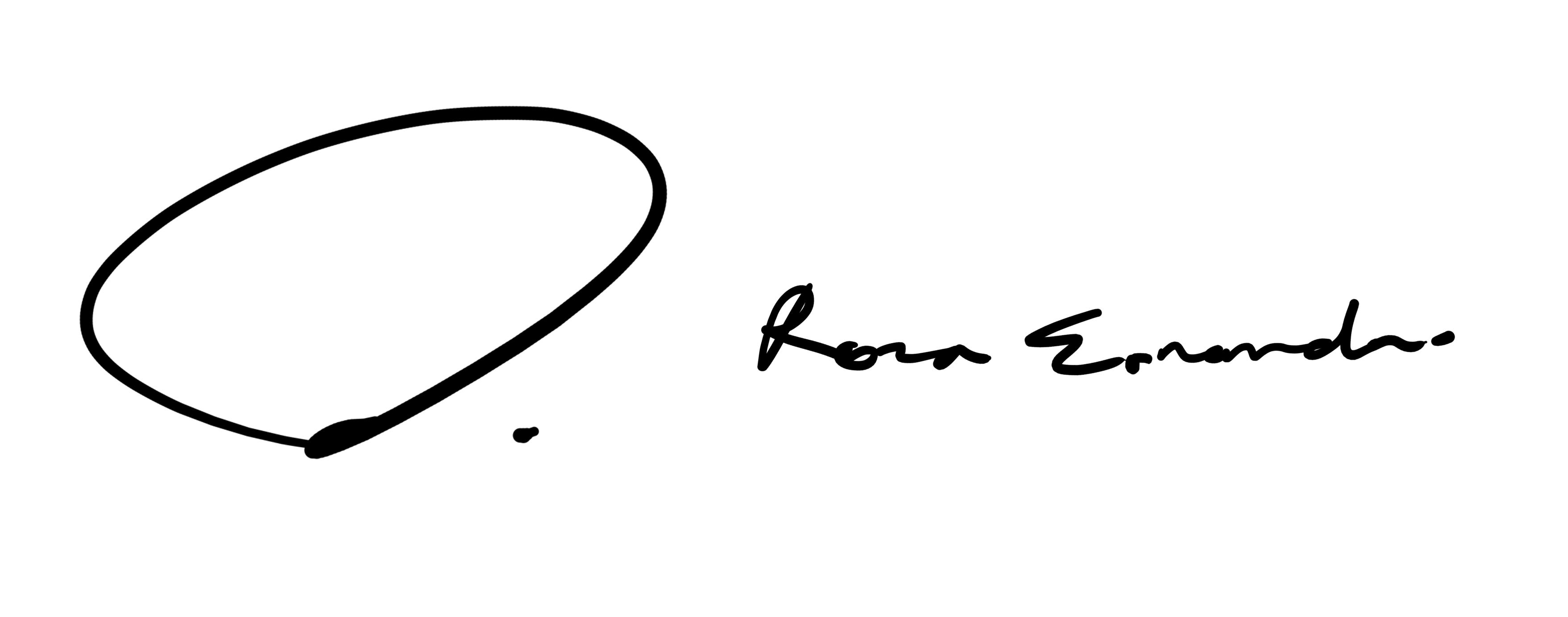 reza ernanda's Signature