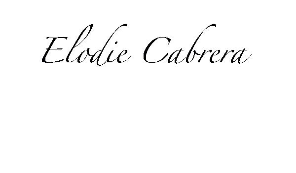 Elodie Cabrera's Signature
