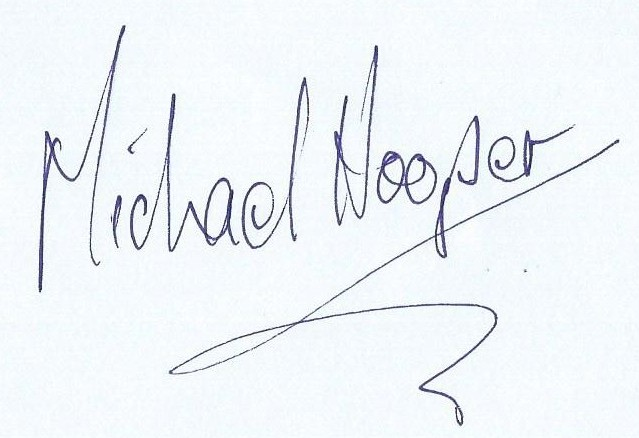 Michael Hooper's Signature