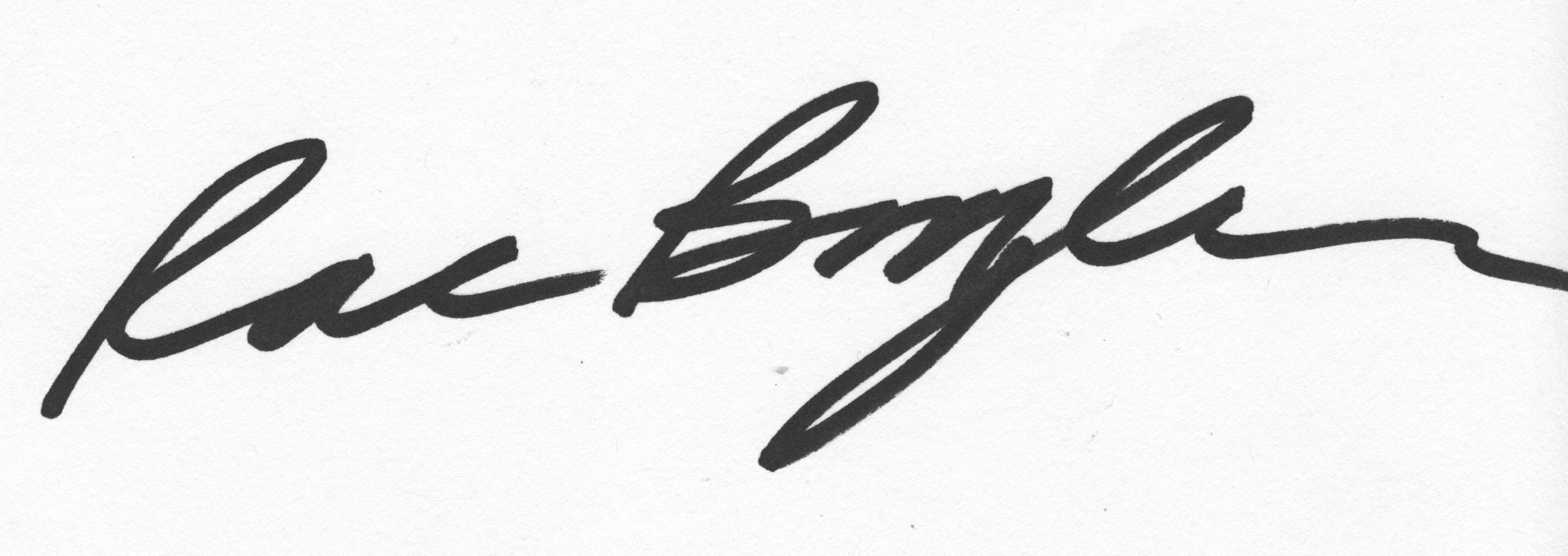 Rae Broyles's Signature