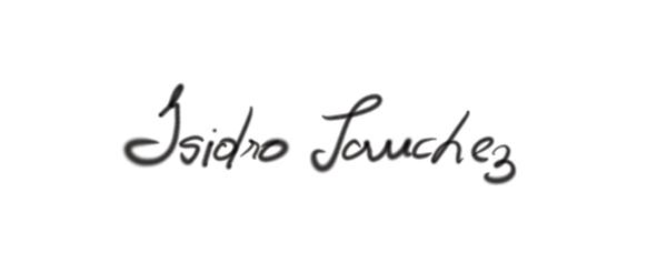 Isidro Sanchez's Signature