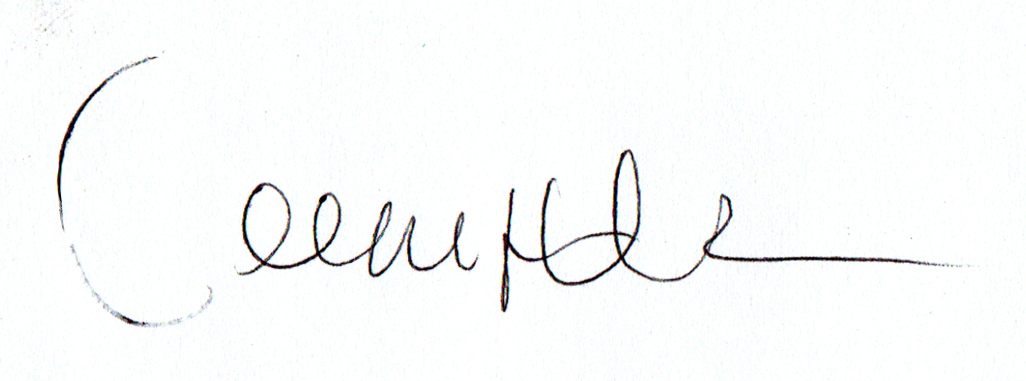 Jennifer Walker's Signature