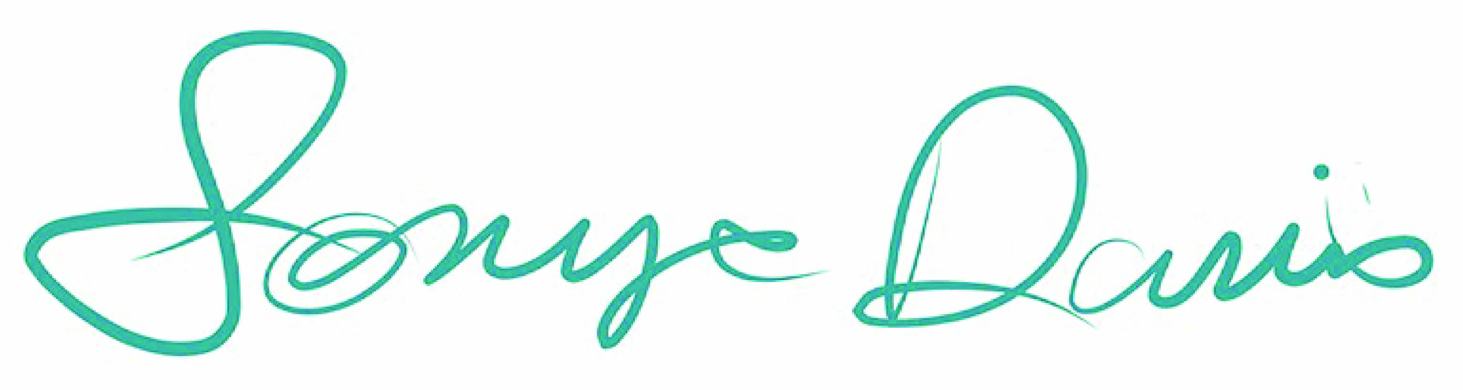 Sonya Davis's Signature