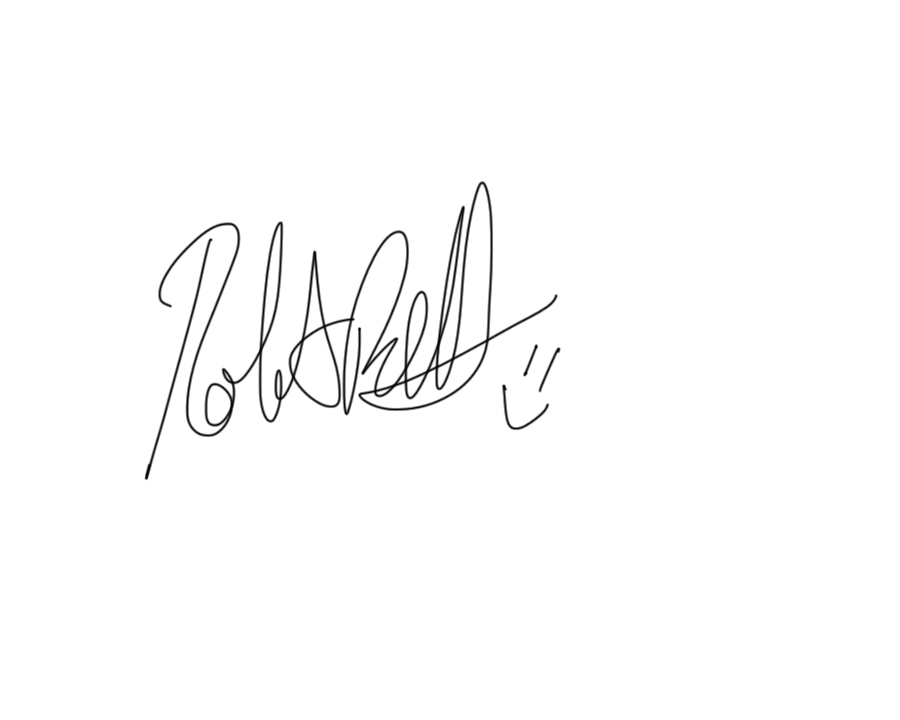 Rob Bell's Signature
