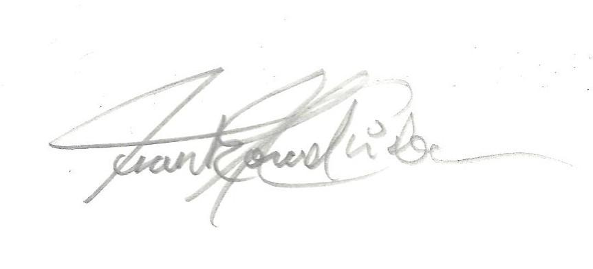 frank monrad Christensen's Signature