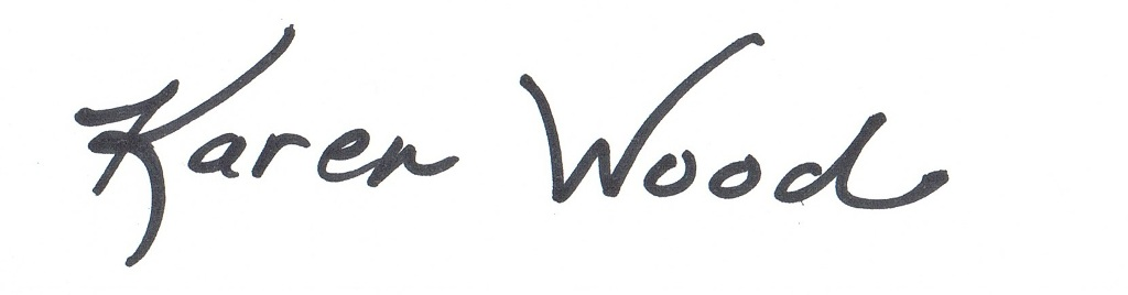 Karen  Wood's Signature