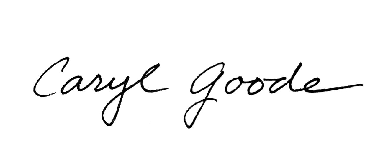 Caryl Goode's Signature