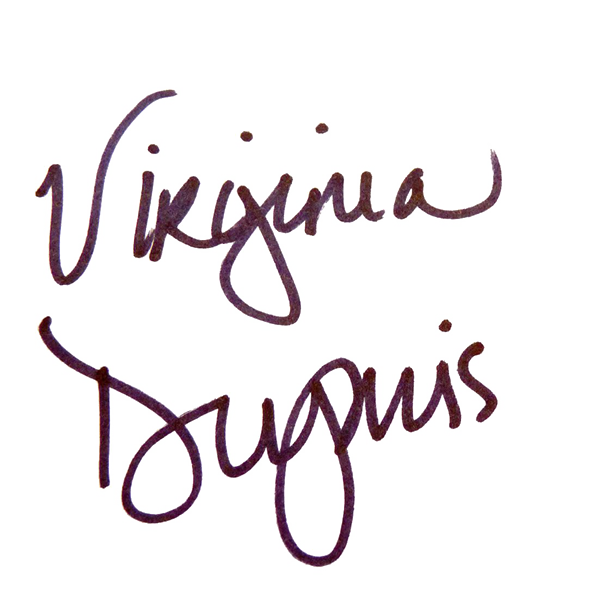 Virginia Dupuis's Signature
