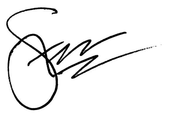 Steve Zmak's Signature