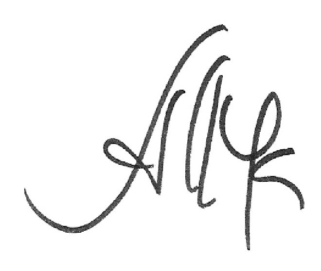 ALVARENGA MARQUES's Signature