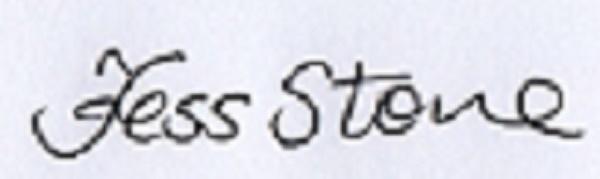 Tess Stone's Signature