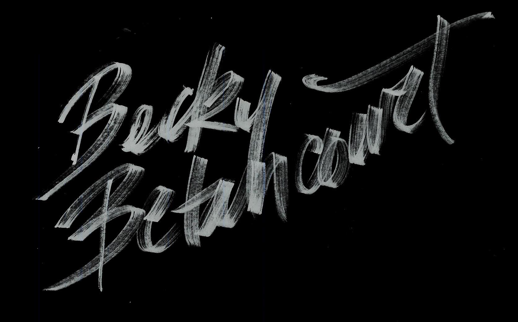 Becky betancourt's Signature