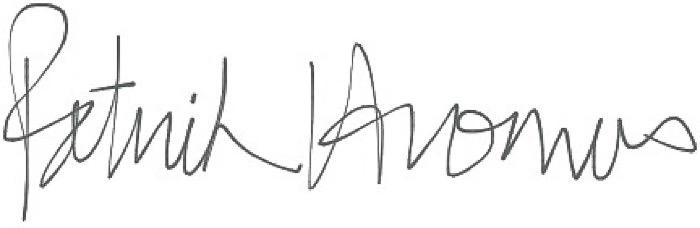 Patrick Hromas's Signature