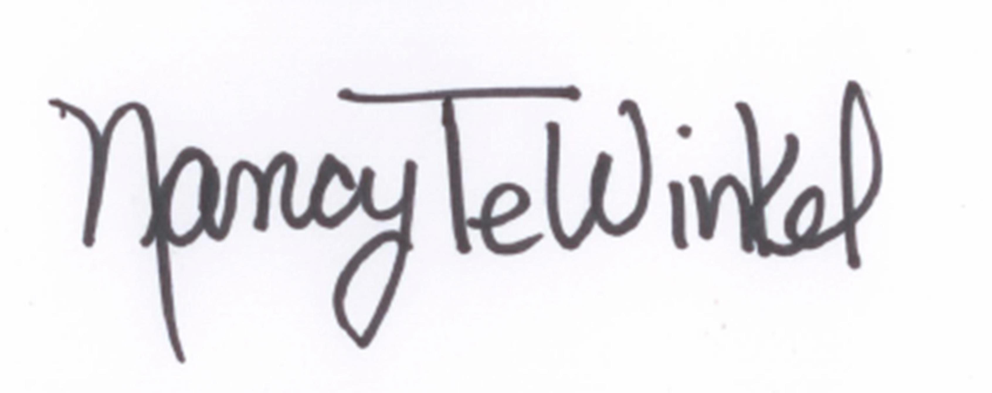 Nancy TeWinkel's Signature