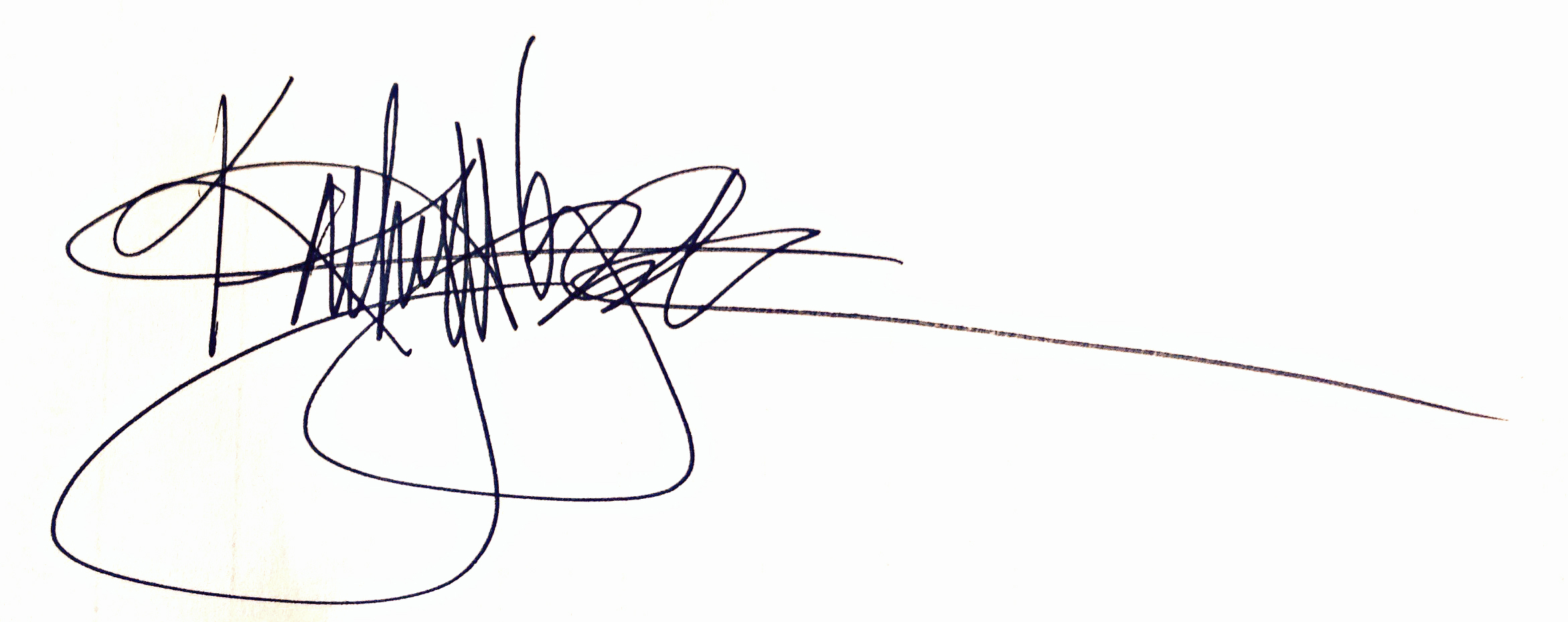 kathy tyndall's Signature