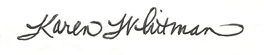 Karen Whitman's Signature