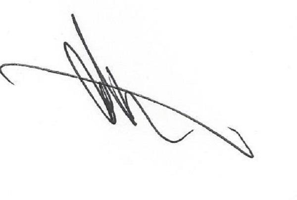 Allan Helgeson's Signature