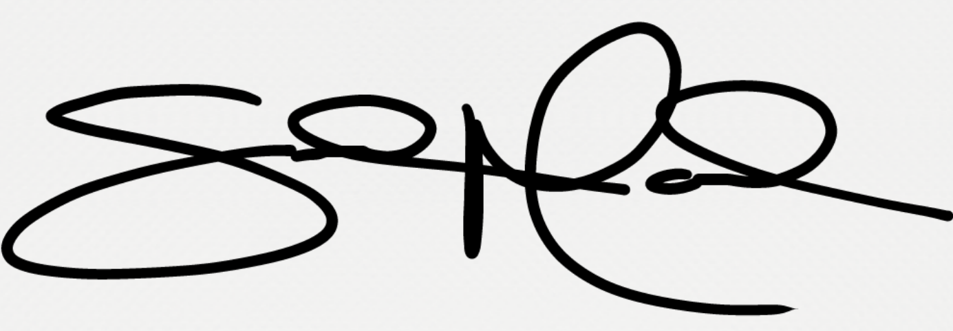 Sandra Madera's Signature