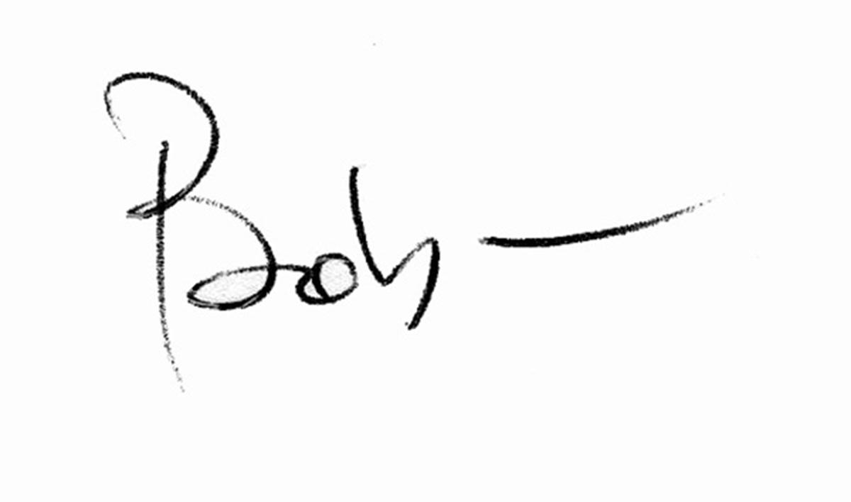 Bob Riha Jr's Signature