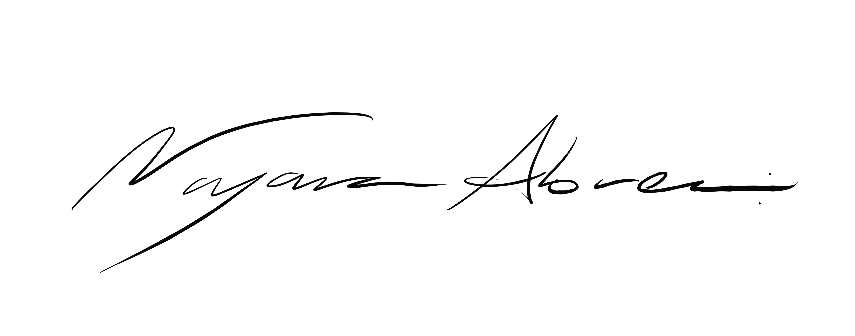 Nayara Abreu's Signature