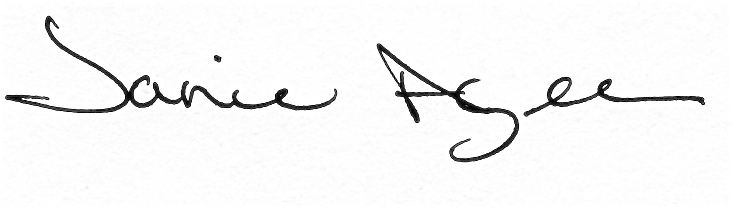 Janie Agee's Signature