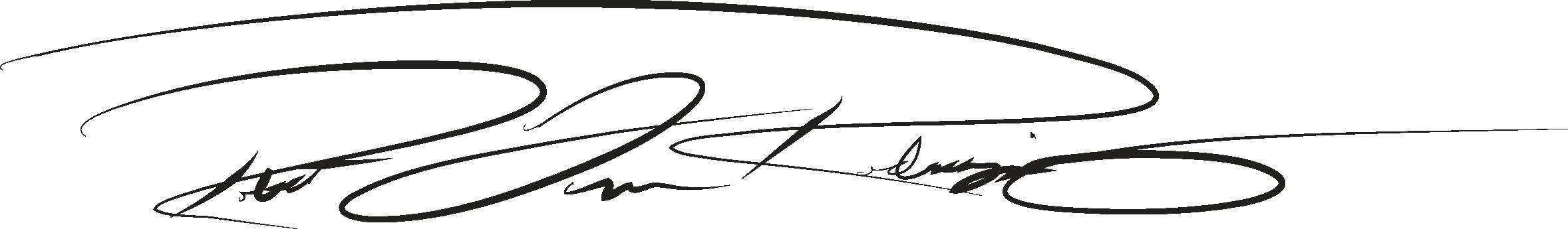 Roberto Rodriguez's Signature