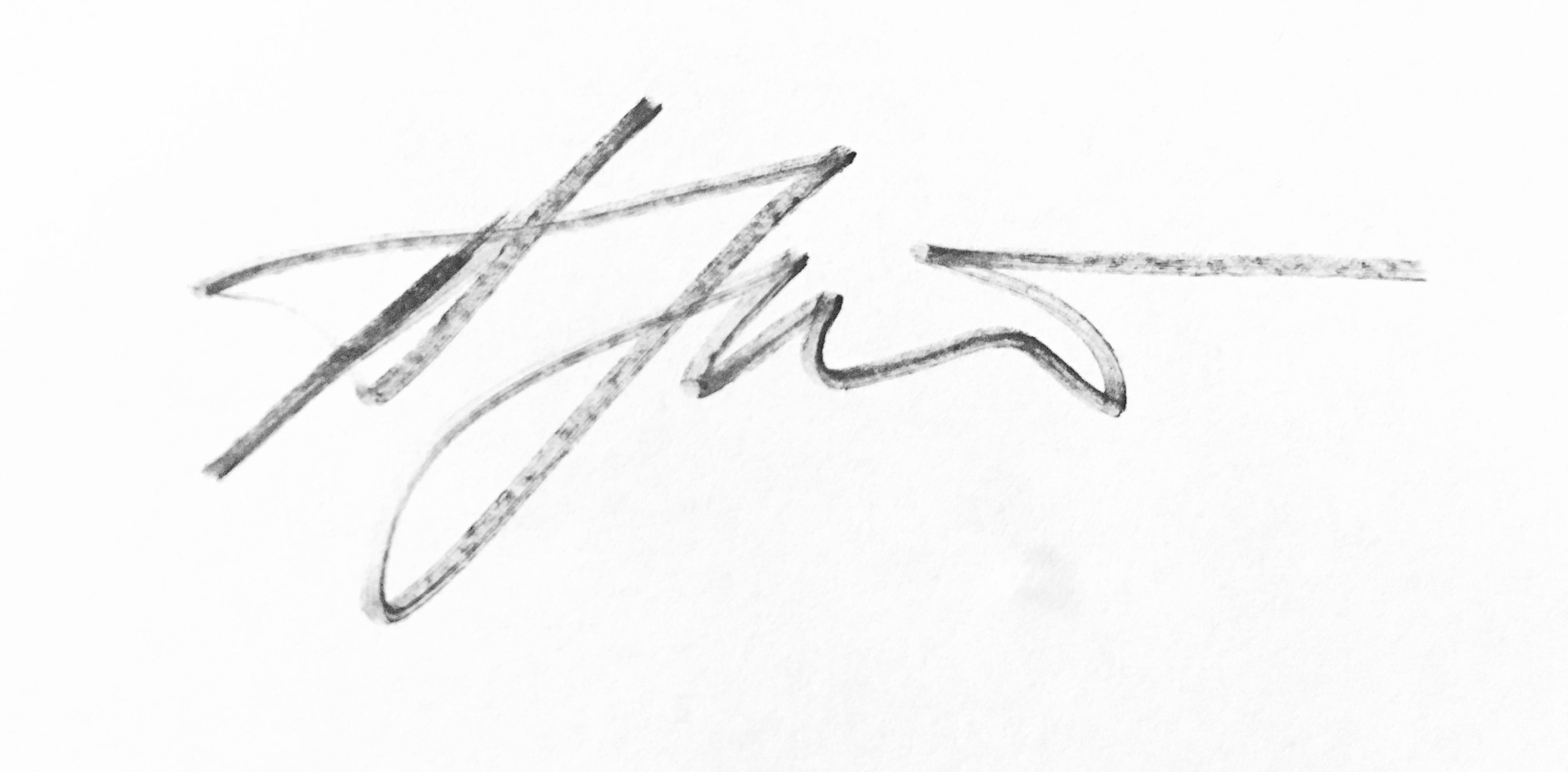 Åre Jürgensohn's Signature