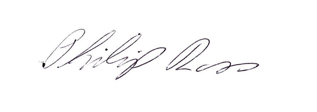 Philip Ross's Signature