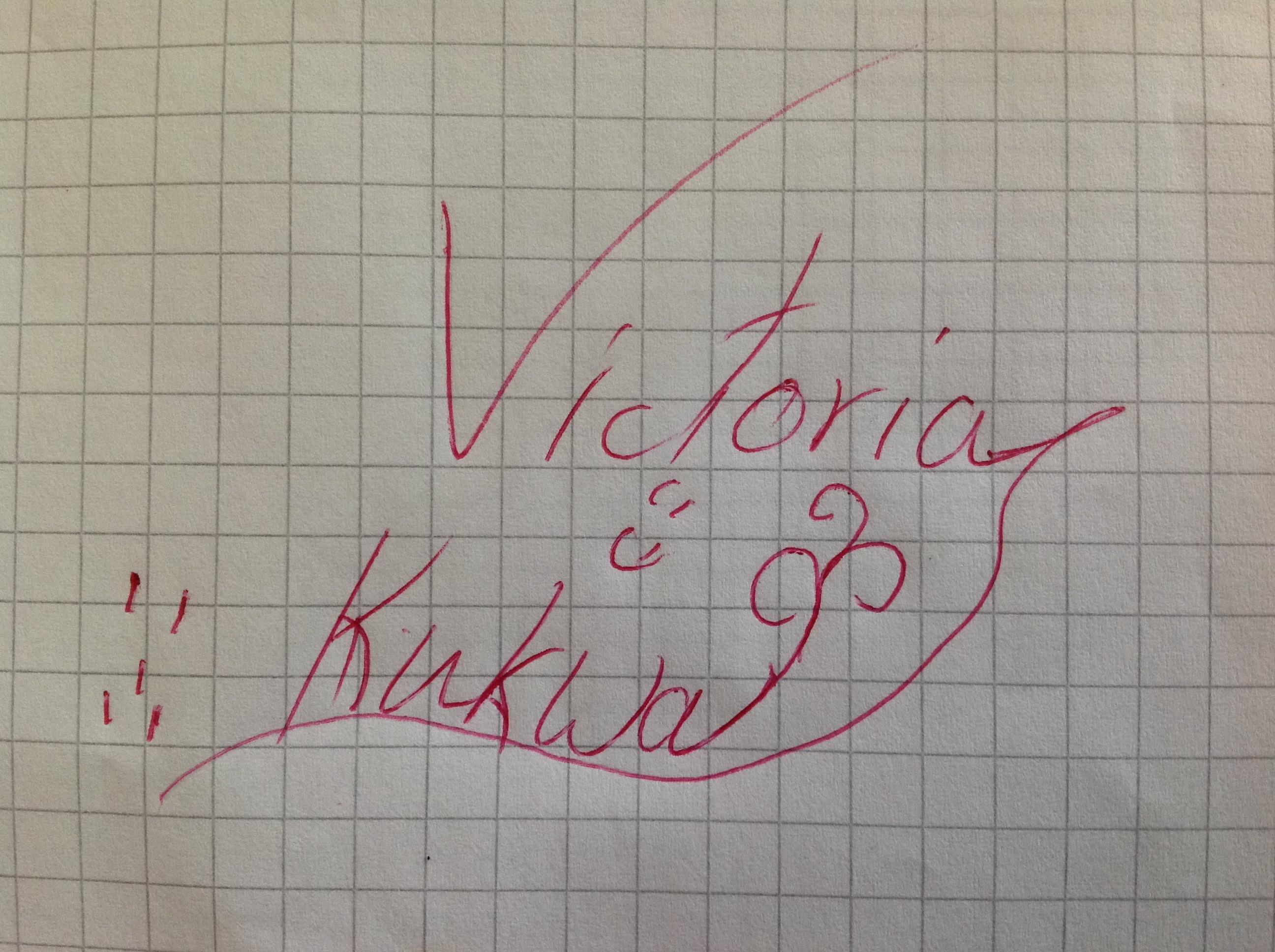 Victoria Kukwa's Signature