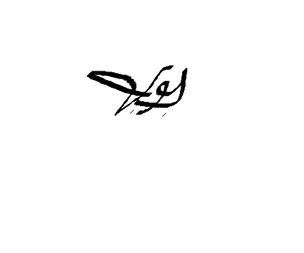 Vilma Gonzalez's Signature