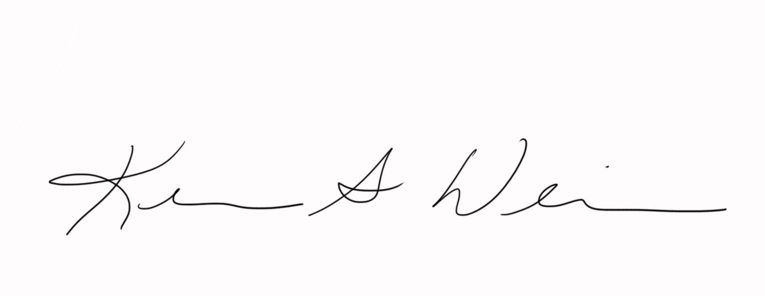 Kerri Weiss's Signature