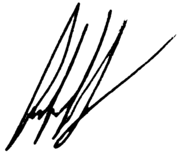 Germán Antonio Martínez's Signature