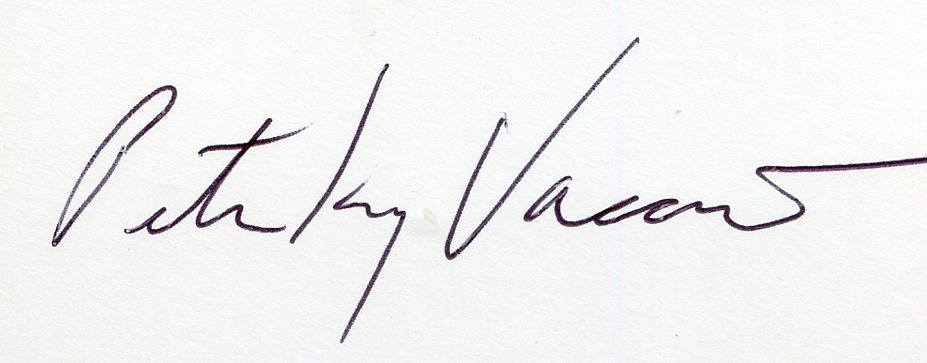 peter      King vaccino's Signature