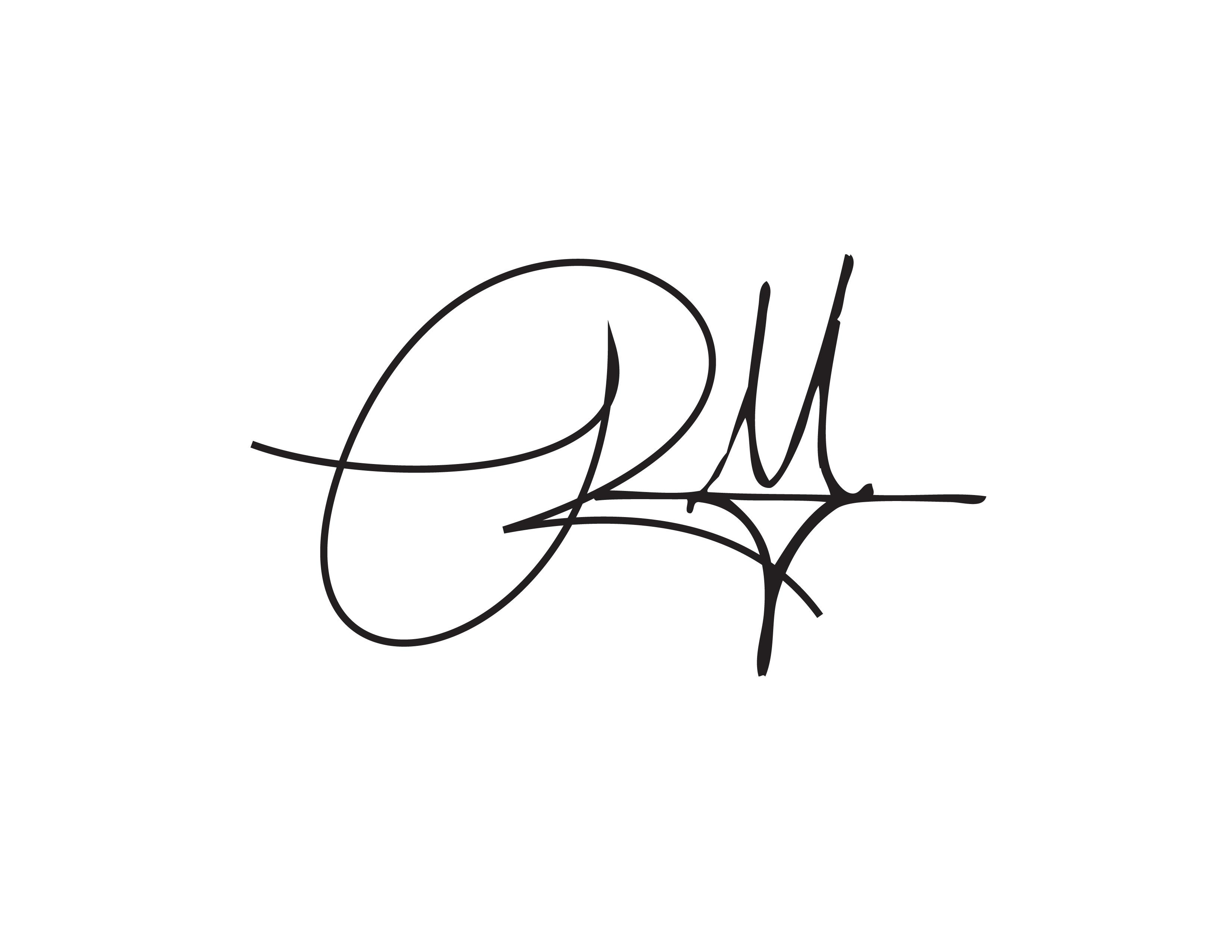 Robin Johnson's Signature