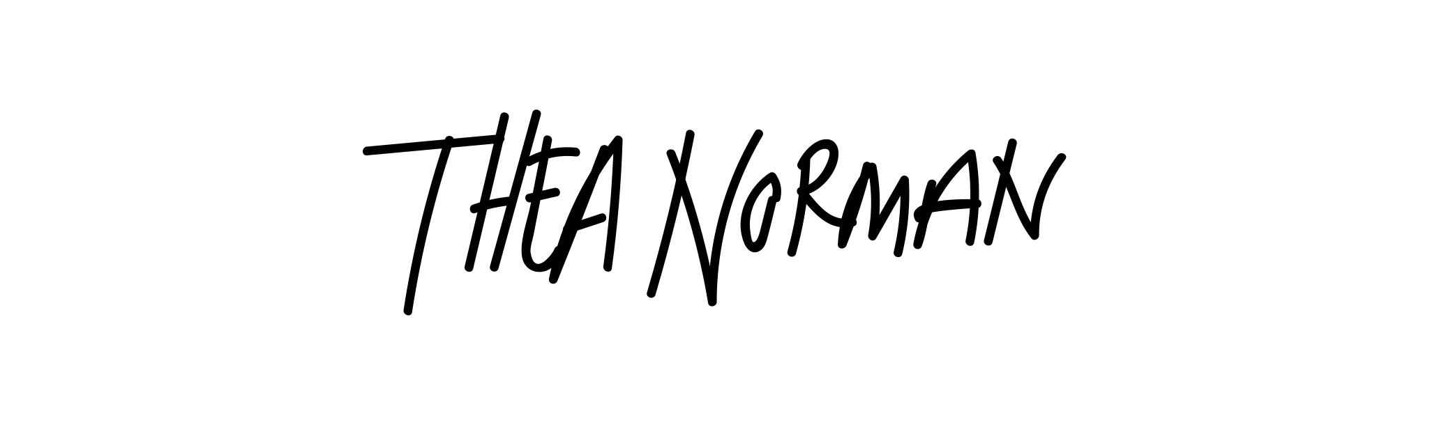 Thea Norman's Signature