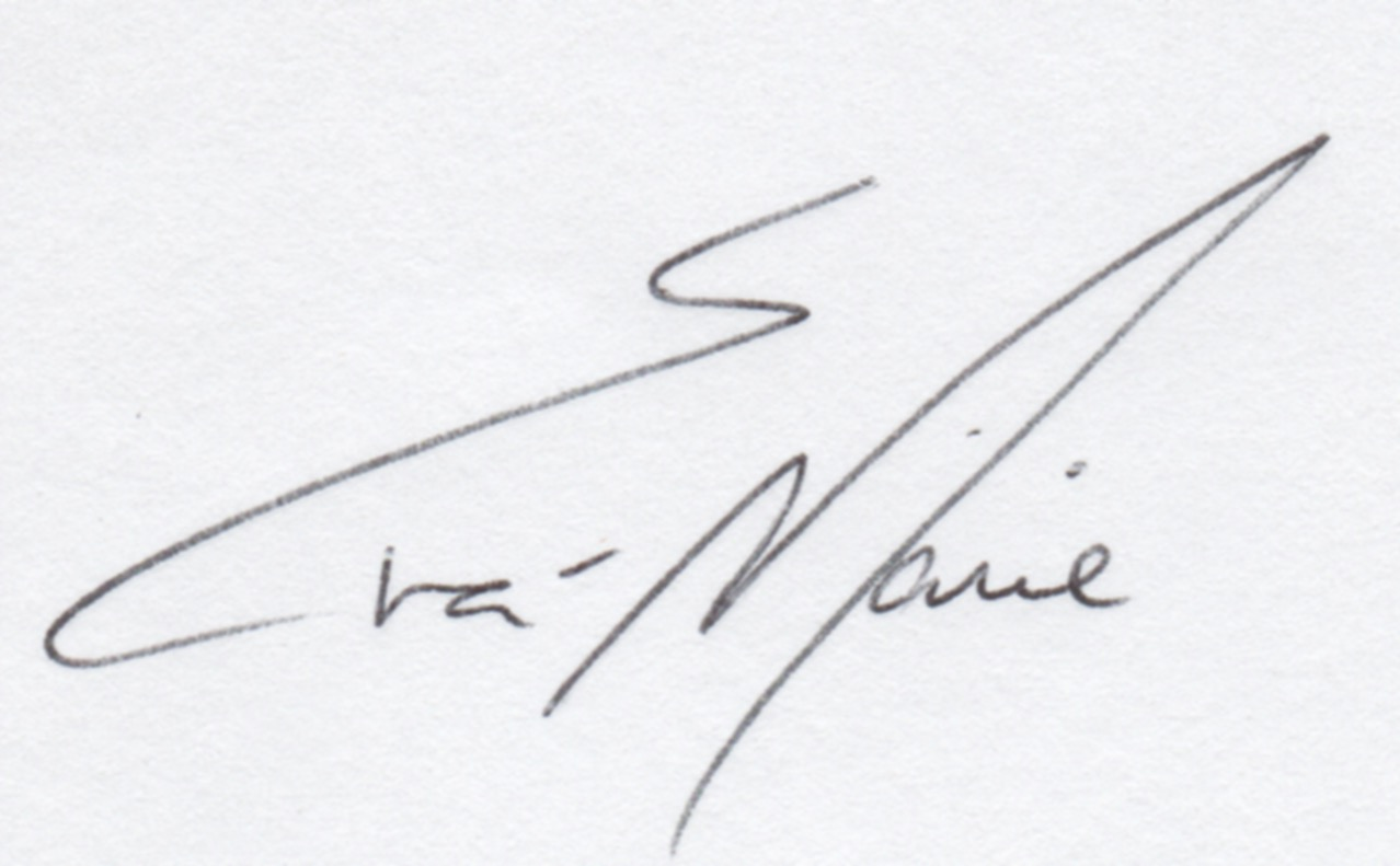 Eva-Marie Amiya's Signature