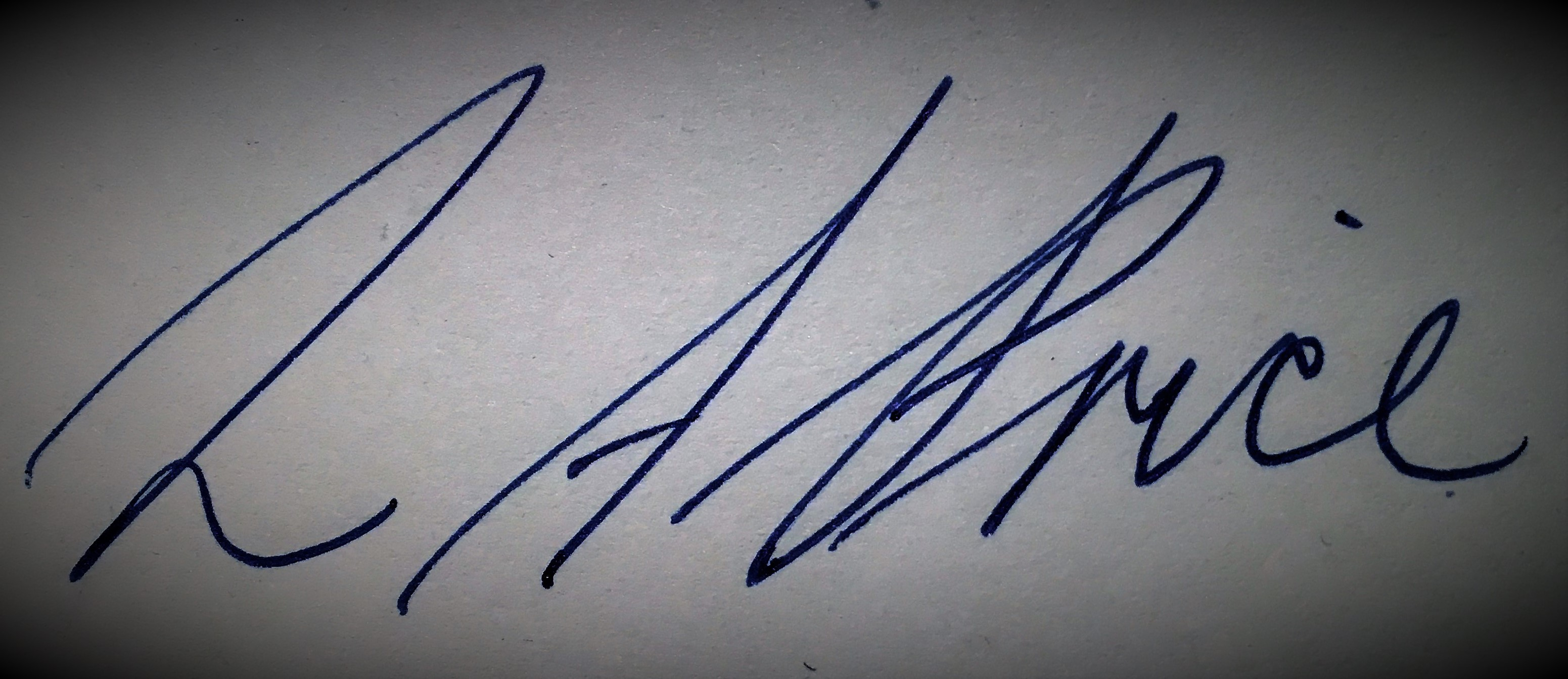 Lilli-anne Price's Signature