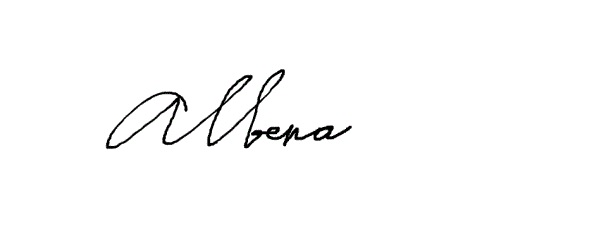 Albena Petrova's Signature