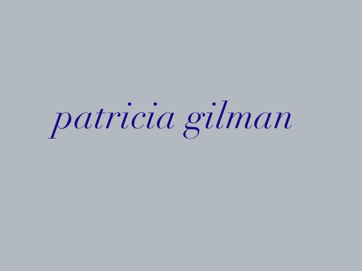 Patricia Gilman's Signature