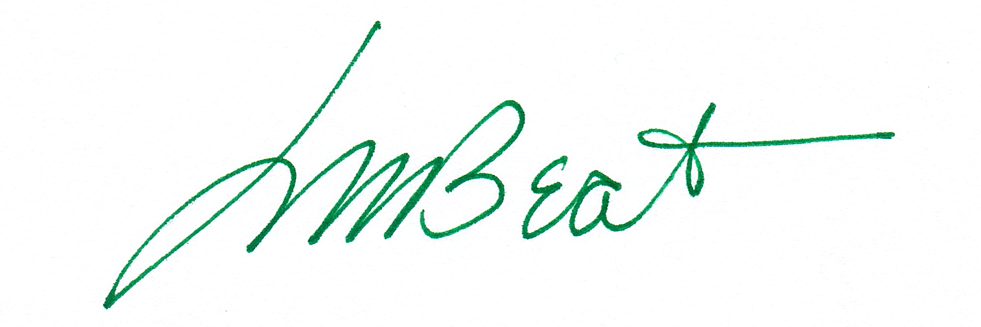 Larry Beat's Signature
