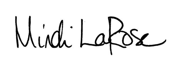 MINDI LAROSE's Signature